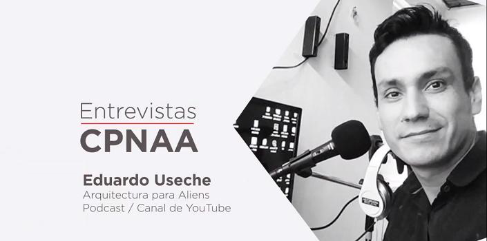 Un diálogo con Eduardo Useche, creador del podcast Arquitectura para Aliens