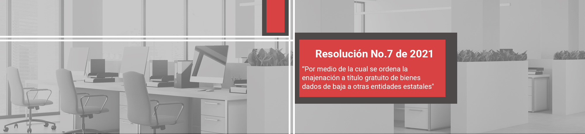 Resolución No. 7 de 2021